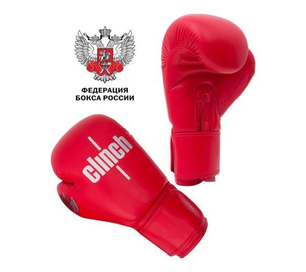 Перчатки Clinch Olimp красные
