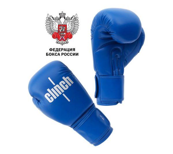 Перчатки Clinch Olimp синий