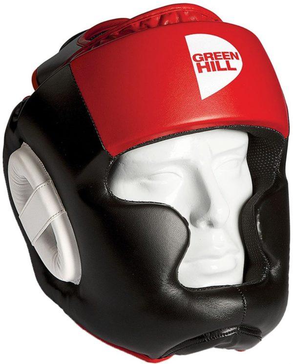 Боксёрский шлем Poise GREEN HILL красный