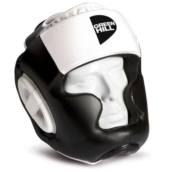 Боксёрский шлем Poise GREEN HILL белый