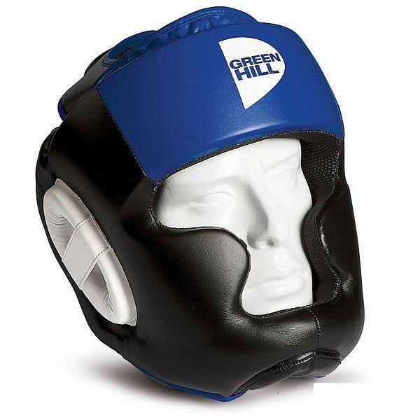 Боксёрский шлем Poise GREEN HILL синий